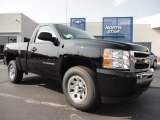 2011 Black Chevrolet Silverado 1500 LS Regular Cab 4x4 #50380257