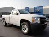 2011 Summit White Chevrolet Silverado 1500 Regular Cab #50380258