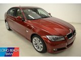 2011 Vermillion Red Metallic BMW 3 Series 328i Sedan #50380418