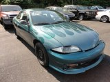 1999 Medium Green Metallic Chevrolet Cavalier Coupe #50380273