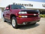 2005 Sport Red Metallic Chevrolet Tahoe Z71 4x4 #50380647