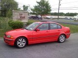 2000 Bright Red BMW 3 Series 323i Sedan #50380446
