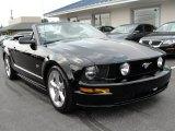 2007 Black Ford Mustang GT Premium Convertible #50380656