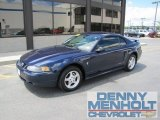 2003 True Blue Metallic Ford Mustang V6 Coupe #50380662