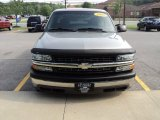 2002 Light Pewter Metallic Chevrolet Silverado 1500 LS Extended Cab #50380673
