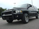 2001 Black Dodge Ram 1500 SLT Club Cab 4x4 #50443279
