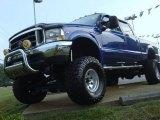 2003 Sonic Blue Metallic Ford F250 Super Duty FX4 Crew Cab 4x4 #50443280