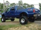 2003 Ford F250 Super Duty Sonic Blue Metallic