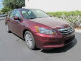 2011 Basque Red Pearl Honda Accord LX Sedan #50443250
