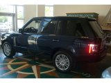 2011 Land Rover Range Rover Buckingham Blue Metallic