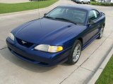 1997 Ford Mustang Moonlight Blue Metallic