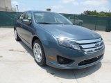 2011 Steel Blue Metallic Ford Fusion SE #50466321