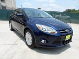 2012 Kona Blue Metallic Ford Focus SE SFE Sedan #50466325