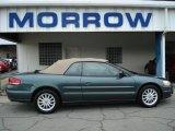 2002 Onyx Green Pearl Chrysler Sebring LXi Convertible #50466229