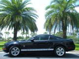 2007 Black Ford Mustang V6 Premium Coupe #50466146