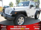 2011 Bright White Jeep Wrangler Sport S 4x4 #50466253