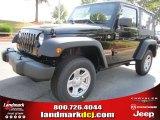 2011 Black Jeep Wrangler Sport 4x4 #50466254