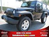 2011 Black Jeep Wrangler Sport S 4x4 #50466255