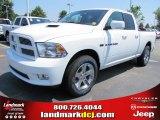 2011 Bright White Dodge Ram 1500 Sport Quad Cab #50466263
