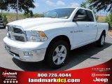 2011 Bright White Dodge Ram 1500 Big Horn Quad Cab #50466265