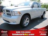 2011 Bright Silver Metallic Dodge Ram 1500 Sport Quad Cab #50466267