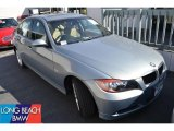 2008 Arctic Metallic BMW 3 Series 328i Sedan #50466348