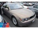 Kalahari Beige Metallic BMW 7 Series in 2003