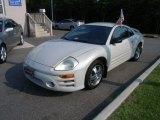 2003 Dover White Pearl Mitsubishi Eclipse GS Coupe #50466469