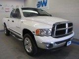 2004 Bright White Dodge Ram 1500 SLT Quad Cab 4x4 #50466477