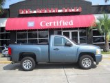 2007 Blue Granite Metallic Chevrolet Silverado 1500 LS Regular Cab #50466191