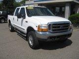 2000 Oxford White Ford F250 Super Duty XLT Crew Cab 4x4 #50466379