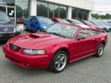 2001 Laser Red Metallic Ford Mustang GT Convertible #50466295