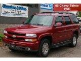 2005 Sport Red Metallic Chevrolet Tahoe Z71 4x4 #50466302