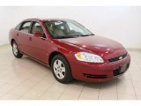 2006 Sport Red Metallic Chevrolet Impala LS #50466504