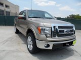 2011 Pale Adobe Metallic Ford F150 Lariat SuperCrew 4x4 #50466313