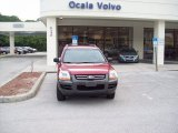 2006 Kia Sportage Volcanic Red