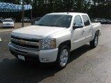2011 White Diamond Tricoat Chevrolet Silverado 1500 LT Crew Cab #50502178