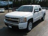 2011 Summit White Chevrolet Silverado 1500 LT Crew Cab #50502179