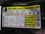 2008 Ford Mustang Bullitt Coupe Info Tag