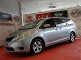 2011 Predawn Gray Mica Toyota Sienna LE #50502216