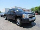 2008 Dark Blue Metallic Chevrolet Silverado 1500 LT Extended Cab #50502091