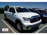 2008 Super White Toyota Tundra SR5 TRD Double Cab 4x4 #50501684