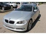 2008 Titanium Silver Metallic BMW 3 Series 335i Coupe #50501820