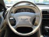 2002 Ford Mustang V6 Convertible Steering Wheel