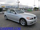 2008 Titanium Silver Metallic BMW 3 Series 328xi Sedan #50502263