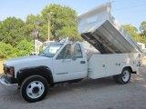 1998 GMC Sierra 3500 SL Regular Cab Dump Truck