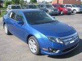 2011 Blue Flame Metallic Ford Fusion SE #50501977