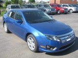 2011 Blue Flame Metallic Ford Fusion SE #50501979