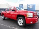 2011 Victory Red Chevrolet Silverado 1500 LT Crew Cab 4x4 #50501853