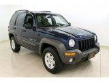 2002 Patriot Blue Pearlcoat Jeep Liberty Sport 4x4 #50502129